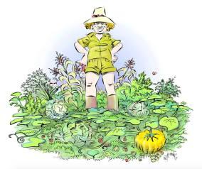 GardenGirlSketch