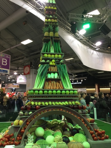 Food Eiffel Tower Paris Ag Expo