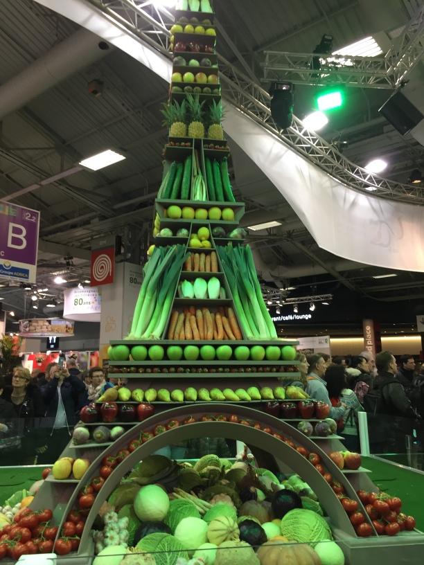 Food Eiffel Tower Paris Ag Expo