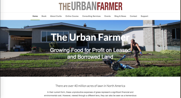 The Urban Farmer Curtis Stone Website