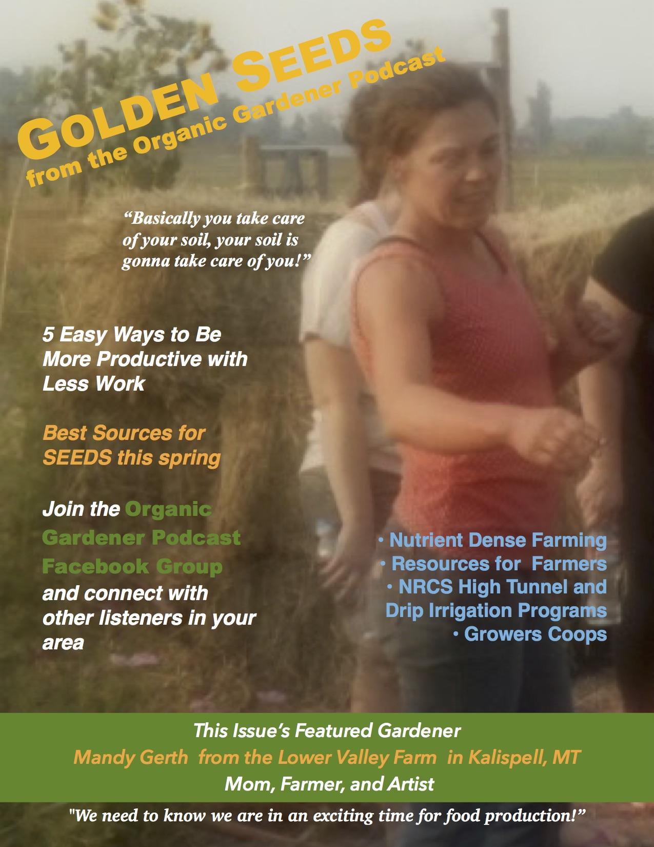 Golden Seeds Newsletter – Mike\'s Green Garden