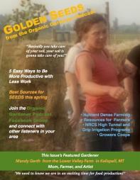Golden Seeds From the Organic Gardener Podcast Newsletter