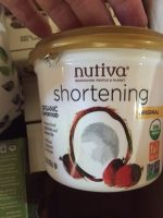 Nutiva Organic Coconut Shortening Giveaway Prize