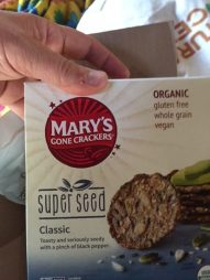Mary's Gone Crackers Super Seed Giveaway Prize