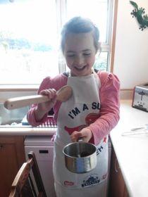 Kim Romeril Kids cooking