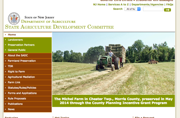 NJ Dept of AG Website