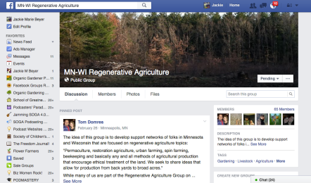 MN-WI Regenerative Agriculture Facebook Group