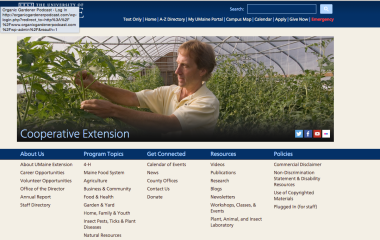 University of Maine Extension Service