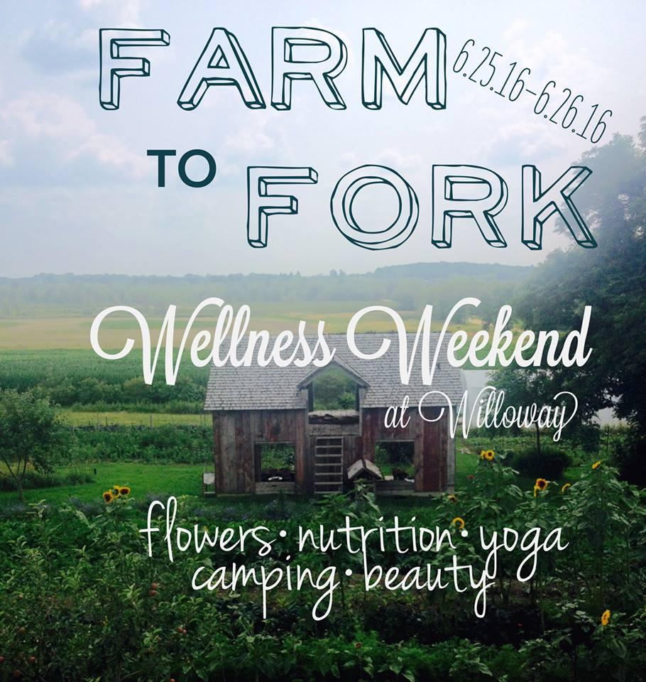 Wellness Weekend at Willoway Farm