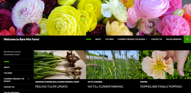 Bare Mountain Farms Website
