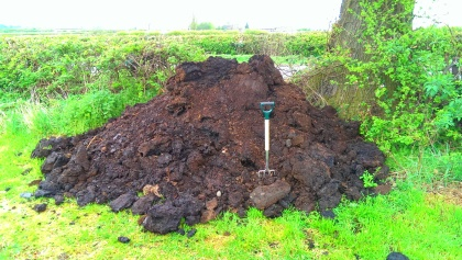 Manure to spread at VegPlotter Allotment site