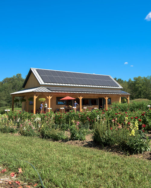 Farm Stand with Roof