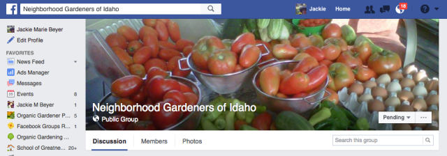 Neighborhood Gardeners of Idaho
