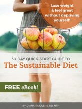 Quick Start Guide Sustainable Diet