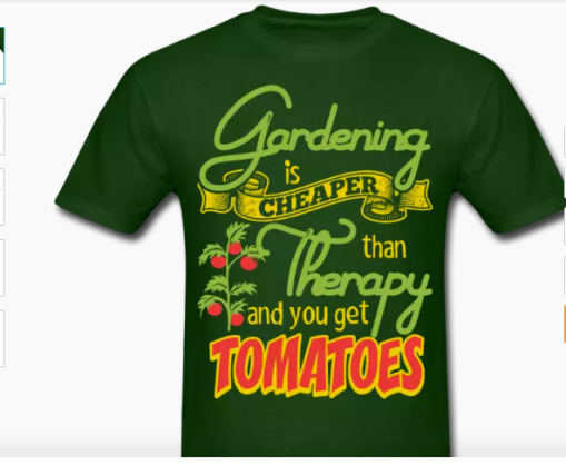 Gardening Is Cheaper Tshirt
