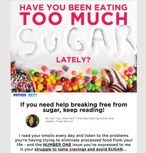 Food Babe 7 Day Sugar Detox