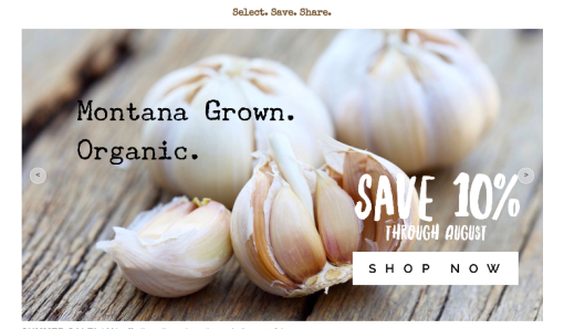 Good Seed Co Garlic Sale