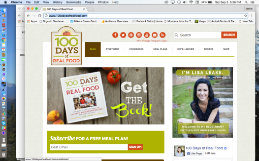 http://www.100daysofrealfood.com