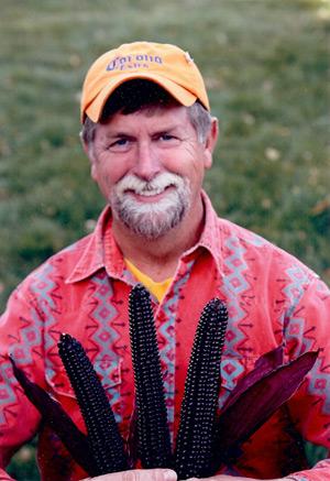 Dave Christensen blue corn