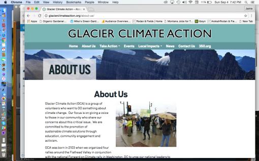 Climate Smart Action Glacier County
