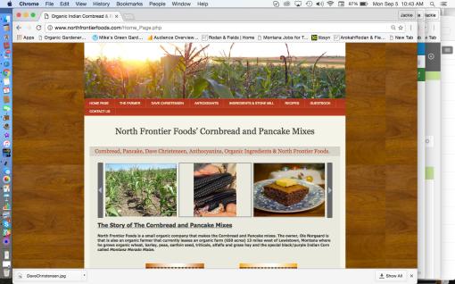 North Frontier Foods Black Corn