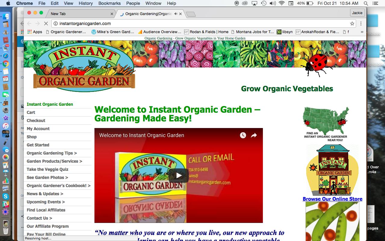 Instant Organic Garden : Instant organic garden don rosenberg north carolina
