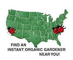 Instant Organic Gardener Map