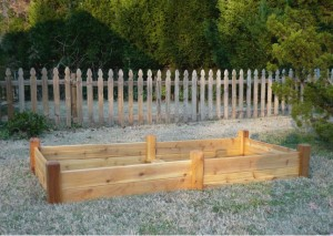 Instant Organic Garden raised bed