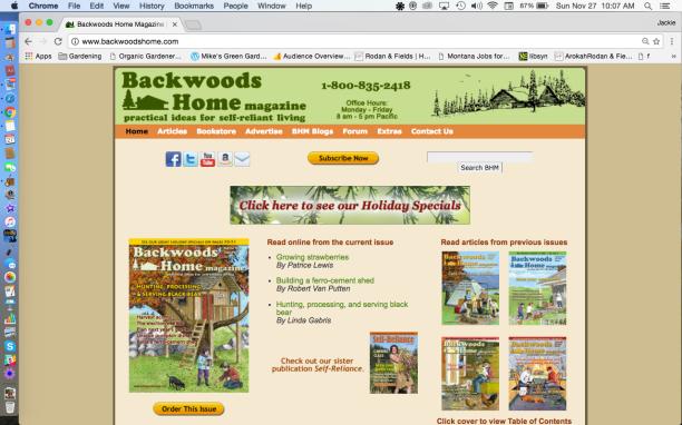 BackWoodsHomeMagazine