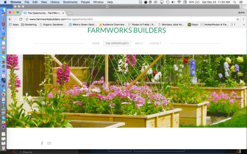 FARMWORKS Builders The Opportunity
