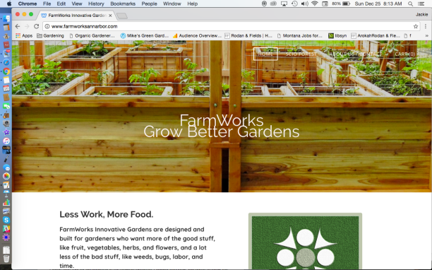 FarmWorks Grow Better Gardens Website