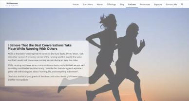 Diz Runs Website