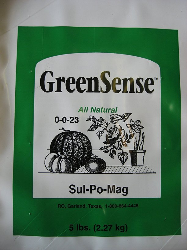 Sul-Po-Mag Organic Fertilizer