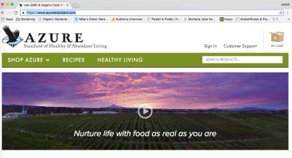 Azure Standard Website