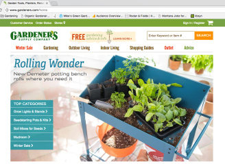 Gardener's Supply Co Website - soaker hoses