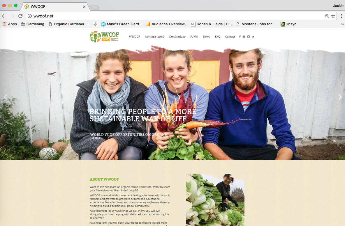http://wwoof.net/ WWOOF Website