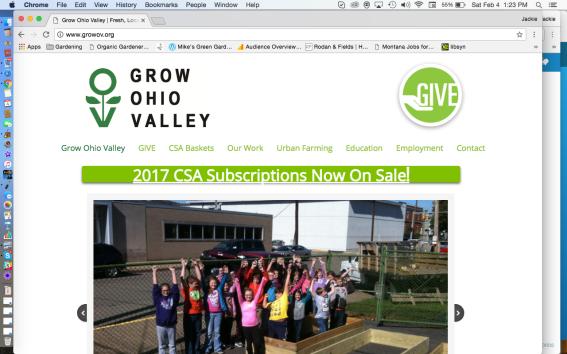 Grow Ohio Valley Website
