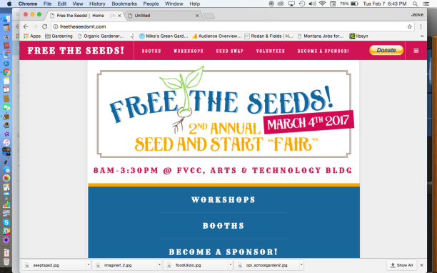 Free The Seeds Website