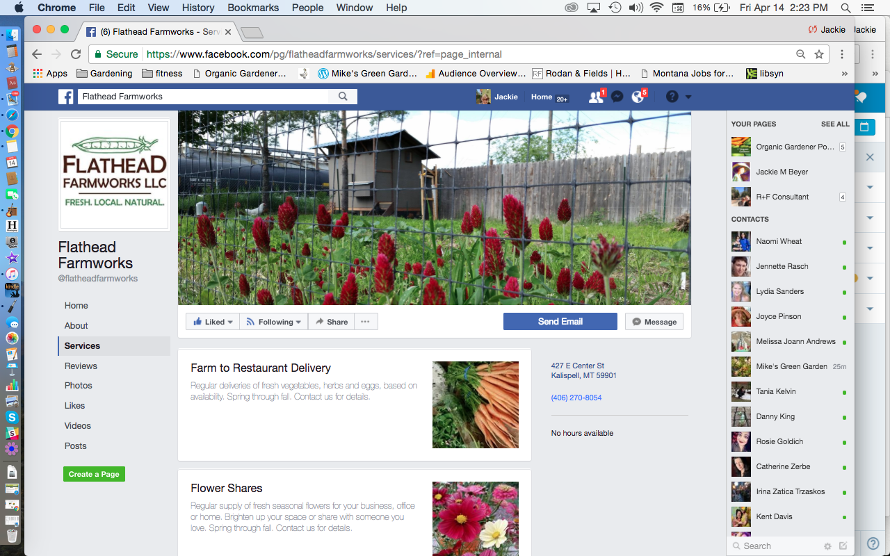 169  Flathead Farmworks   April & Kurt Vomfell   Kalispell