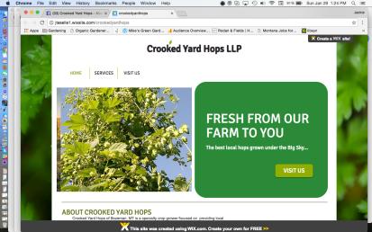Crooked Yard Hops