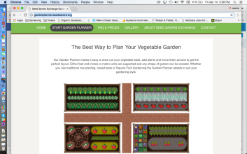 Seed Savers Exchange Garden Planner