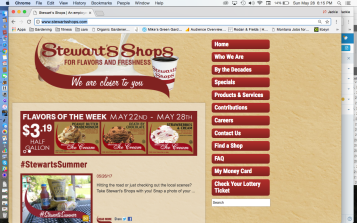Stewart's Shops For Flavors and Freshness