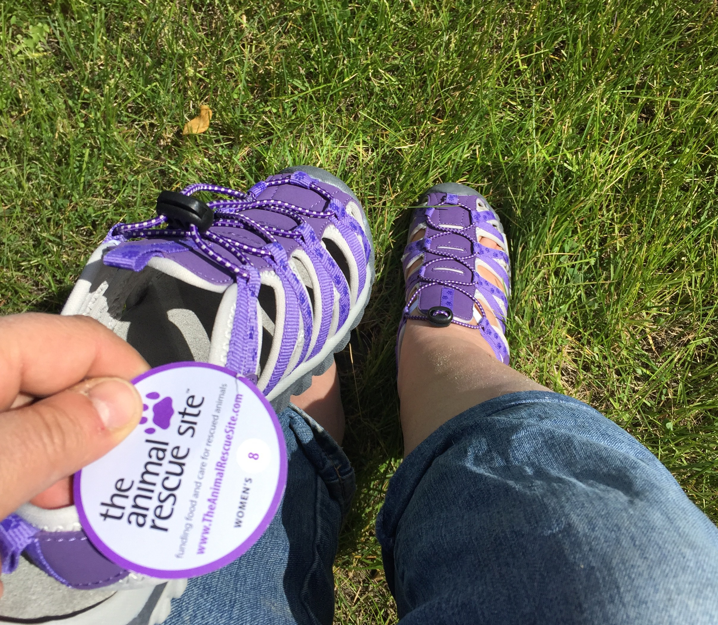 New Gardening Shoes from Animal Rescue Site