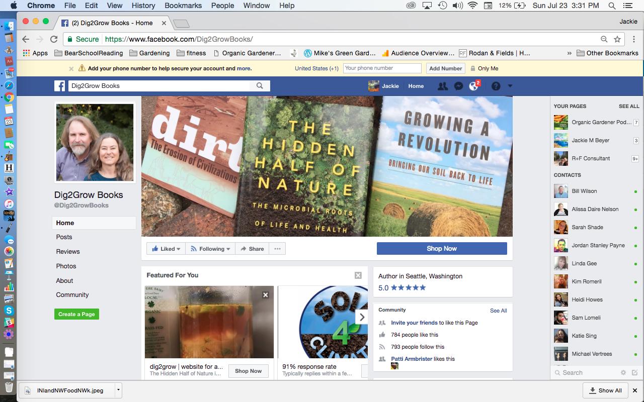 Dig2Grow Facebook Page Anne Bikle