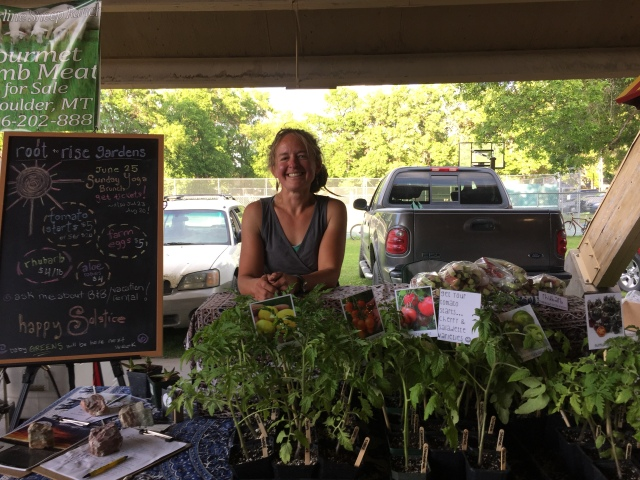 Leslie Witter from Root2rise Gardens in Bozeman