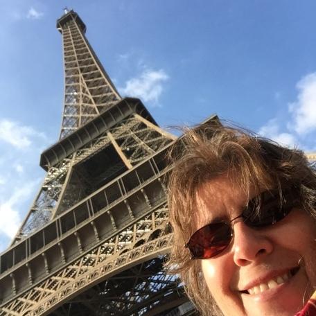 Jackie Marie Beyer in Paris