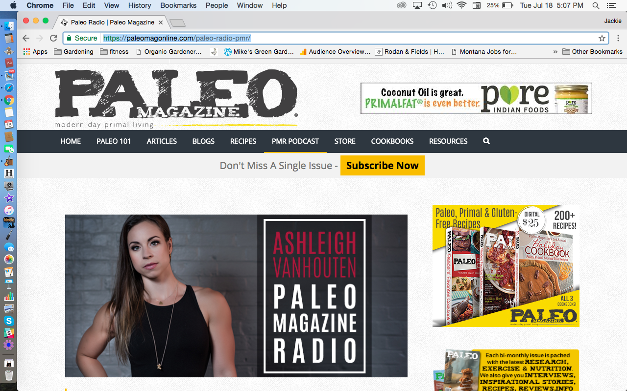 Paleo Magazine Radio Podcast