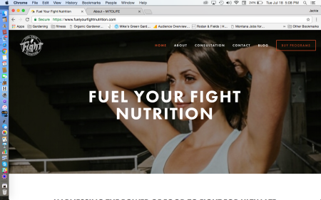 Fuel Your Fight Nutrition