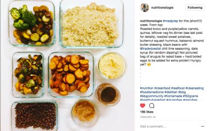 Meal Prep Nutritionologie LEanna Tu