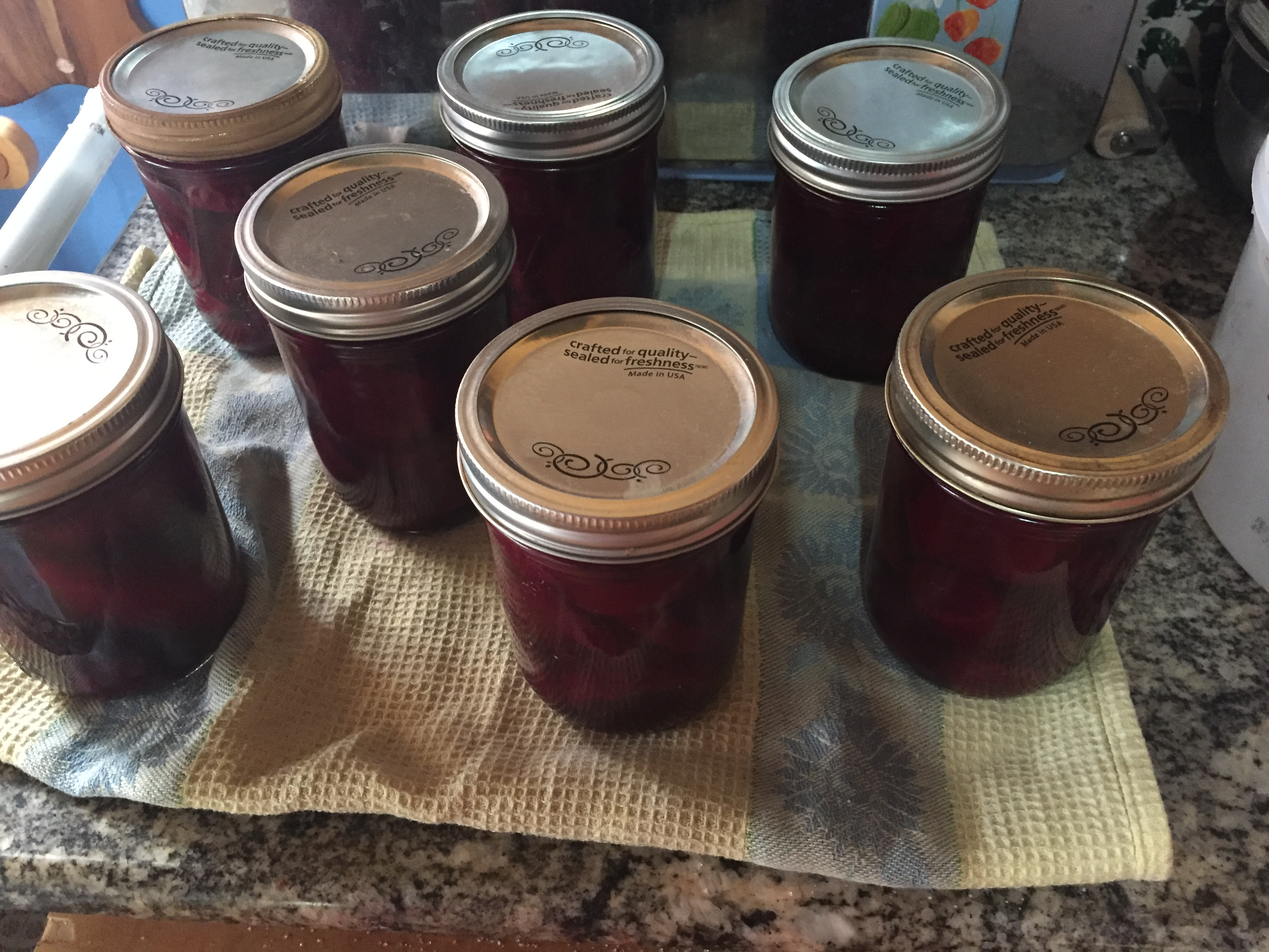 Mike's Green Garden Pickled Beets Canned